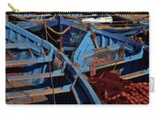 Essaouira Blue Boats. Morocco Carry-all Pouch