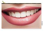 Esthetics Of Smile  Dental Veneers Vs Orthodontic Treatment Carry-all Pouch