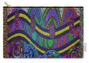 Ethnic Wedding Decorations Abstract Usring Fabrics Ribbons Graphic Elements Carry-all Pouch