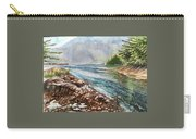 Evening By The River Carry-all Pouch