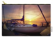 Evening Harbor At Rest Carry-all Pouch
