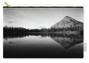 Evening Reflection Bw Carry-all Pouch
