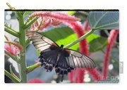 Exotic Butterflies At Rhs Wisley Surrey Uk Carry-all Pouch