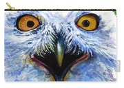 Eyes Of Owls No. 15 Carry-all Pouch