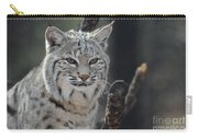 Face Of A Canadian Lynx Carry-all Pouch