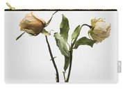 Faded Rose Flower Carry-all Pouch