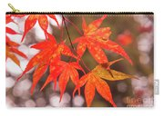 Fall Color Maple Leaves At The Forest In Kochi, Japan Carry-all Pouch