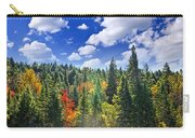 Fall Forest In Sunshine Carry-all Pouch