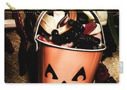Fall Of Halloween Carry-all Pouch