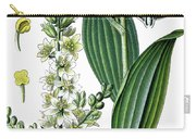 false helleborine, white hellebore, European white hellebore, wh Carry-all Pouch