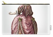 Fashion: French, 1778 Carry-all Pouch