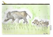 Feral Hogs Carry-all Pouch