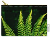 Fern Close-up Nature Patterns Carry-all Pouch