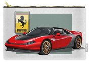 Ferrari Sergio With 3d Badge  Carry-all Pouch