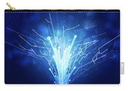Fiber Optics And Circuit Board Carry-all Pouch by Setsiri Silapasuwanchai