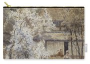Figure In A Japanese Landscape Carry-all Pouch
