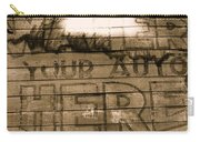 Film Homage Gregg Toland John Ford Henry Fonda The Grapes Of Wrath 2 1940 Ft. Steele Wy 1971-2008 Carry-all Pouch