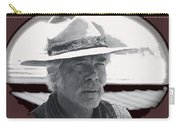 Film Homage Lee Marvin Monte Walsh Collage Variation 2 Old Tucson Arizona 1969-2012 Carry-all Pouch