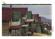 Film Homage Mae Marsh Miner's Coal Company Homes Ghost Town Madrid New Mexico Color 1968-2008 Carry-all Pouch