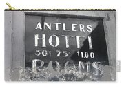 Film Noir Ray Teal Anthony Caruso Scene Of The Crime 1949 Antlers Hotel Victor Colorado 1971-2013 Carry-all Pouch