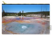 Firehole Spring In Yellowstone National Park Carry-all Pouch