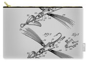 Fish Lure Patent 1933 Carry-all Pouch