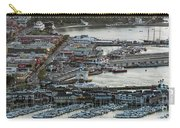Fisherman's Wharf And Pier 39 Aerial Photo Carry-all Pouch