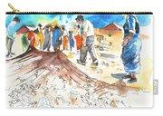 Fishermen In Praia De Mira Carry-all Pouch