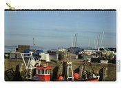 Fishing Boats At Whitstable Harbour 02 Carry-all Pouch