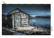 Fishing Shack And Wharf In Norris Point, Newfoundland Carry-all Pouch