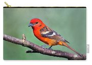 Flame-colored Tanager Piranga Bidentata Carry-all Pouch