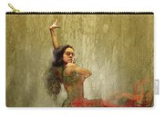 Flamenco In Red Carry-all Pouch