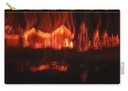 Flaming Houses Lights Water Reflection Christmas Arizona City Arizona 2005 Carry-all Pouch