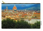 Florence, Italy Panoramic Carry-all Pouch
