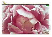 Flower In Blues Carry-all Pouch