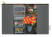 Flower Shop Display In Paris, France Carry-all Pouch