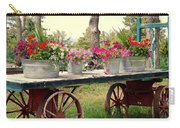 Flower Wagon Carry-all Pouch
