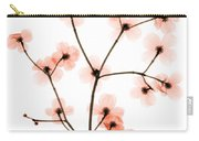 Flowering Dogwood X-ray Carry-all Pouch