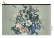 Flowers In A Rococo Vase Carry-all Pouch