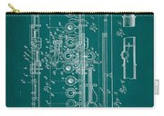 Flute Patent Drawing 2f Carry-all Pouch