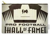 Football Hall Of Fame #1 Carry-all Pouch