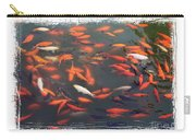 Koi Pond With Framing Carry-all Pouch
