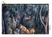 Forest In The Caves Above The Chateau Noir Carry-all Pouch