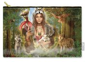 Forest Wolves Carry-all Pouch