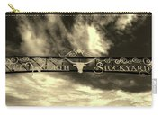 Fort Worth Stockyards District Archway Carry-all Pouch