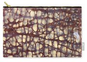 Fossilized Dinosaur Bone Carry-all Pouch