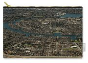 Foster City, California Aerial Photo Carry-all Pouch