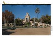 Fountain In A Park, Parc De La Carry-all Pouch