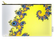 Fractal Seahorse Pattern Carry-all Pouch