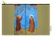 Francis And Claire Triptych Carry-all Pouch